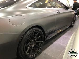 Cstar Carbon Gfk Seitenschweller  für Mercedes Benz W205 C205 C43 AMG Paket Coupe Cabrio