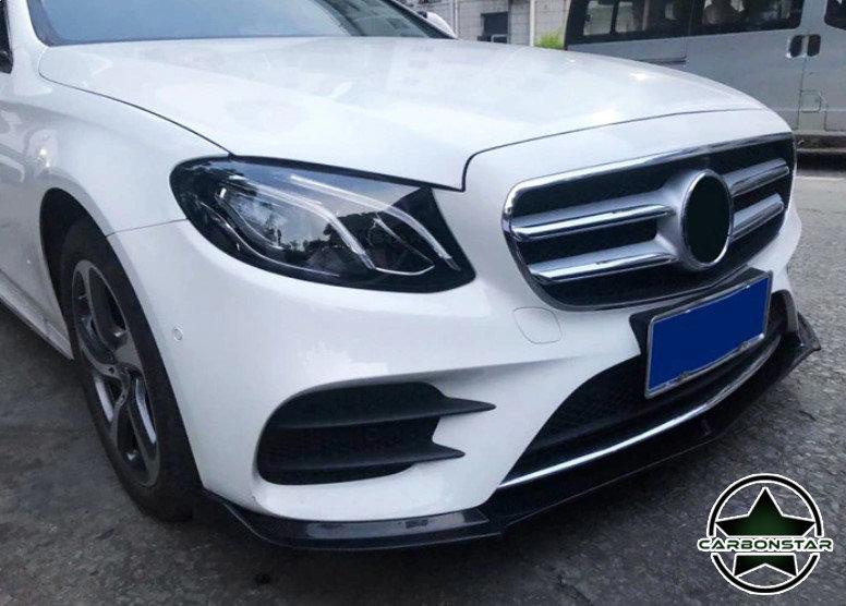 Cstar Carbon Gfk Frontlippe für Mercedes Benz E W213 AMG 4 Türer