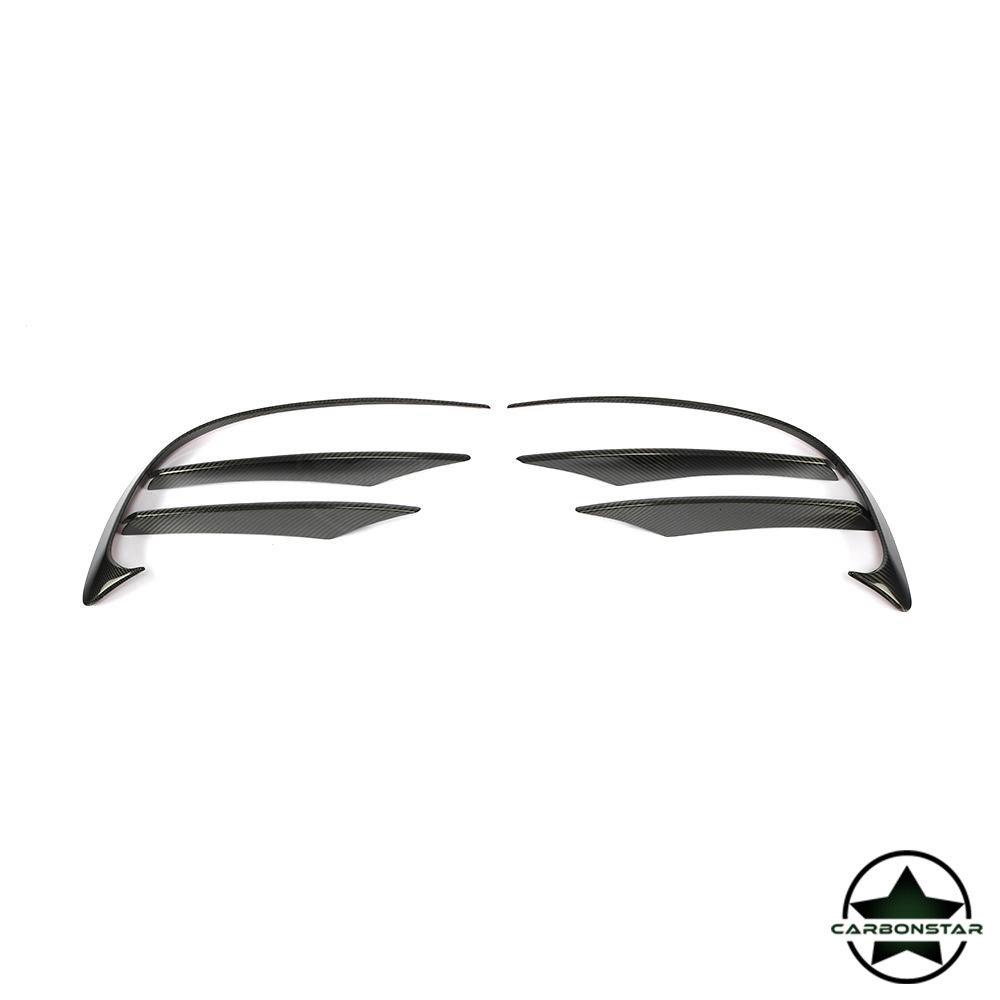 Cstar Carbon Gfk Canards Abdeckung Stoßstange vorne für Mercedes Benz CLS W257 CLS400 550 4 Türer