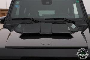 Cstar Carbon Gfk Motorhauben Lufthutze für Mercedes Benz G Klasse