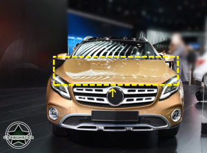 Cstar Carbon Gfk Motorhaube für Mercedes Benz GLA X156