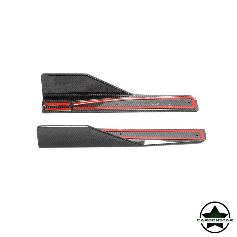 Cstar Carbon Gfk Seitenschweller Flügel für Mercedes Benz GLA X156