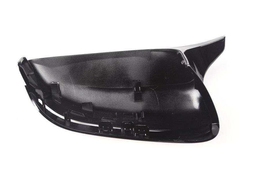 Cstar ABS Austausch Spiegelkappen Hochglanz Schwarz passend für BMW G20 G21