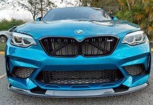 Cstar Carbon Gfk Frontlippe MTC passend für BMW M2 F87 Competition