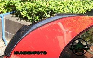 Cstar ABS Heckspoiler Hochglanz Schwarz - V Style passend für BMW F32