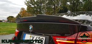 Cstar ABS Heckspoiler Hochglanz Schwarz - PSM Style passend für BMW F32