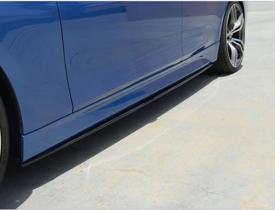 Cstar ABS Performance Seitenschweller Hochglanz Schwarz passend für BMW F32 F33 F36 M Paket